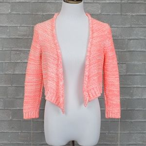 Anthropologie Moth Chunky Crop Cardigan Sweater XS